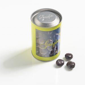 Amandes enrobées au chocolat noir