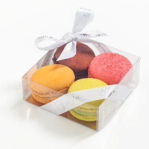 Cadeau de table macarons