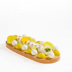Tarte intensément citron