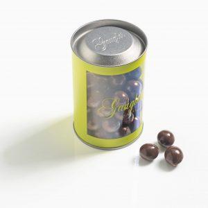 Noisettes enrobées au chocolat au lait