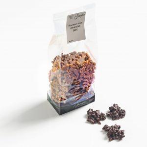 rochers aux amandes - chocolat au lait