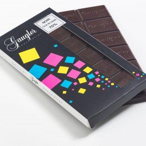 Tablette au chocolat Noir Grué de cacao 70%