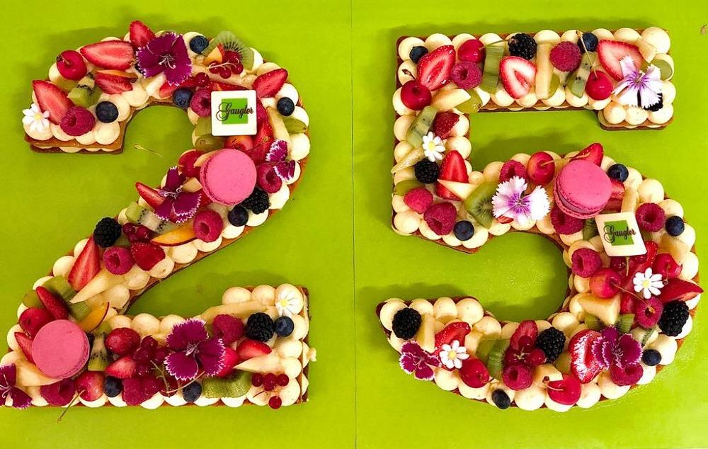 gâteau d'anniversaire numbre cake