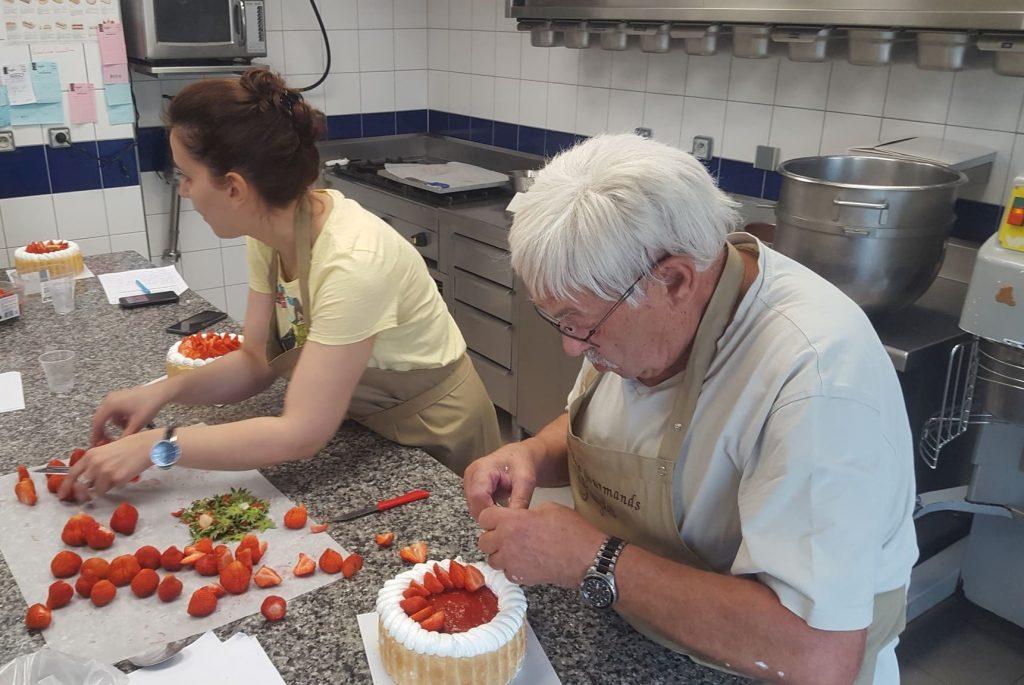 Cours de pâtisserie ateliers