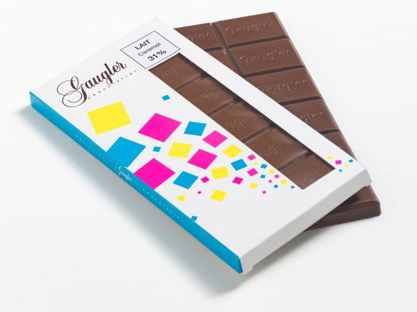 Tablette chocolat au Lait Caramel 31%